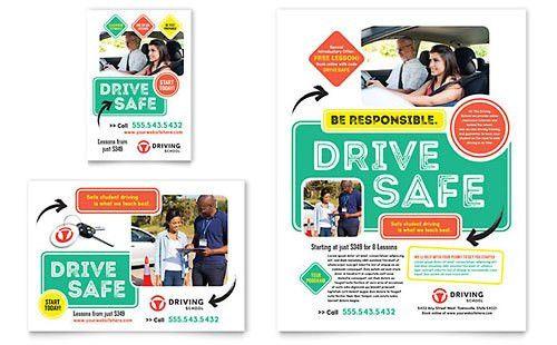 Automotive & Transportation Print Ads   Templates & Designs