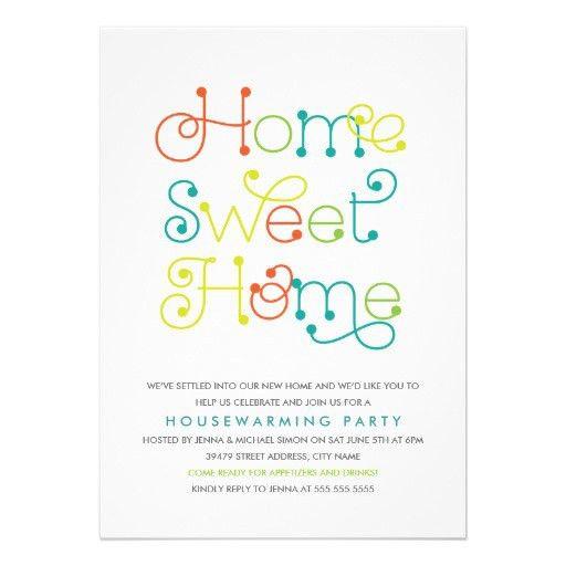 Housewarming Party Invitation | HASKOVO.ME