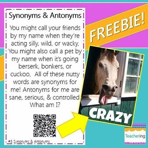 274 best Antonyms/Synonyms images on Pinterest | Synonyms and ...