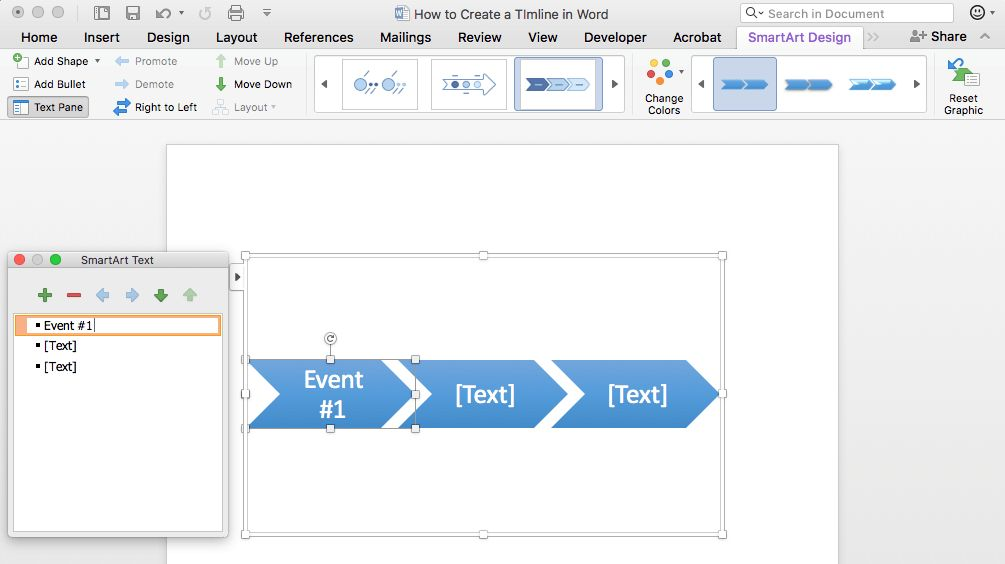 How to Make a Timeline in Word & Free Template | TeamGantt
