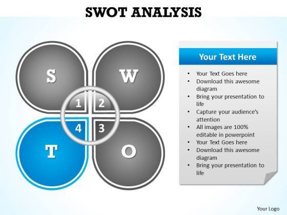 PowerPoint Template Download Swot Analysis Ppt Slides - PowerPoint ...