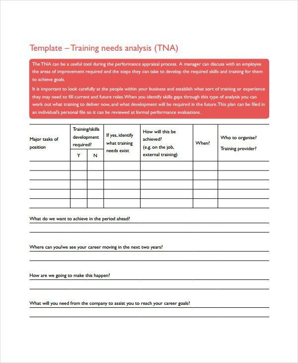 Training Assessment Form. Training Evaluation Form Pdf Training ...