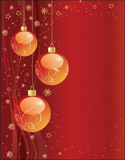 Christmas Party Invitation Background