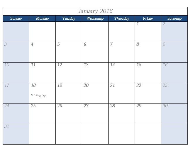 Word Calendar Templates | Templates and Samples