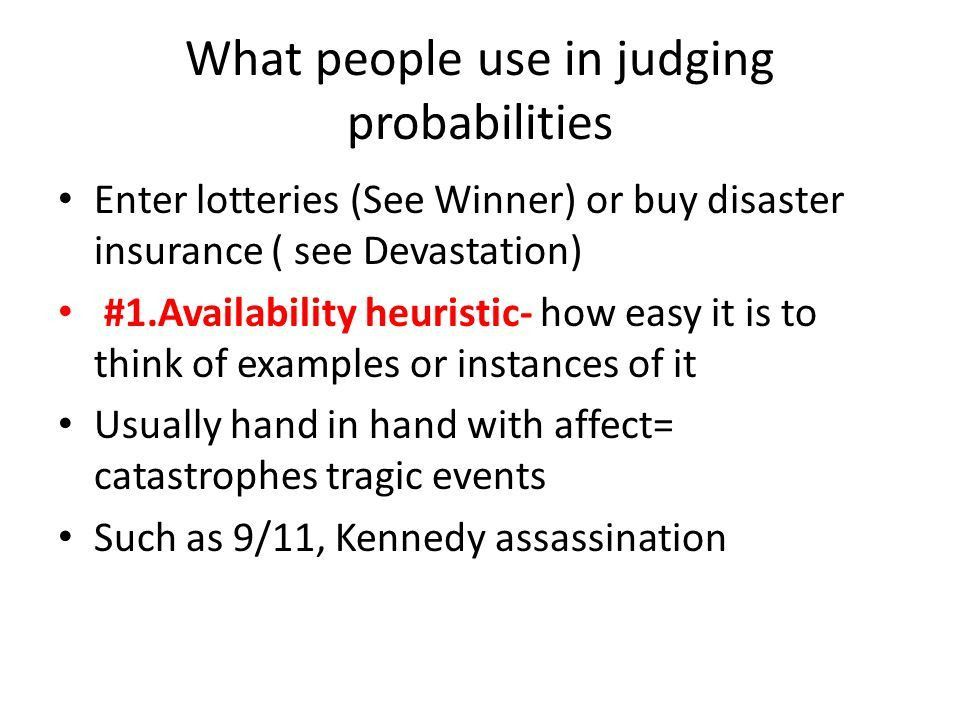 Barriers to reasoning rationally Variables that interfere with ...