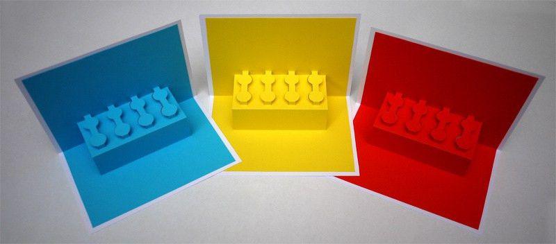 Pop-up card templates