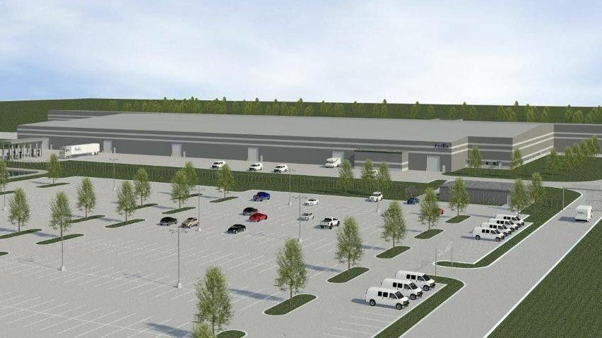 FedEx Ground to build 300K-square-foot distribution center in ...