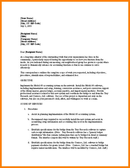4+ business proposal cover letter format | Proposal Template 2017