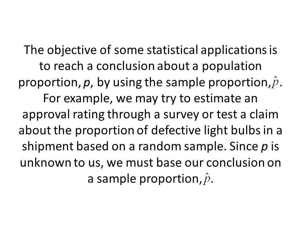 AP Statistics Section 9.2 Sample Proportions - ppt download