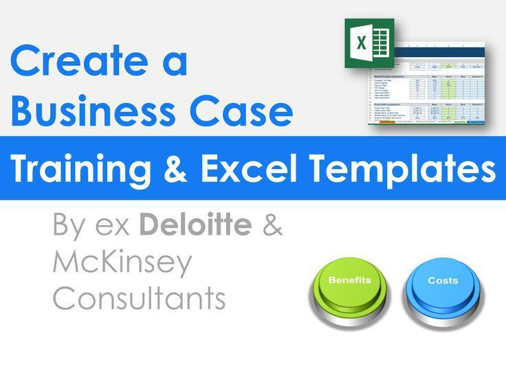 15 best Simple Business Case Template | By ex-McKinsey Consultants ...