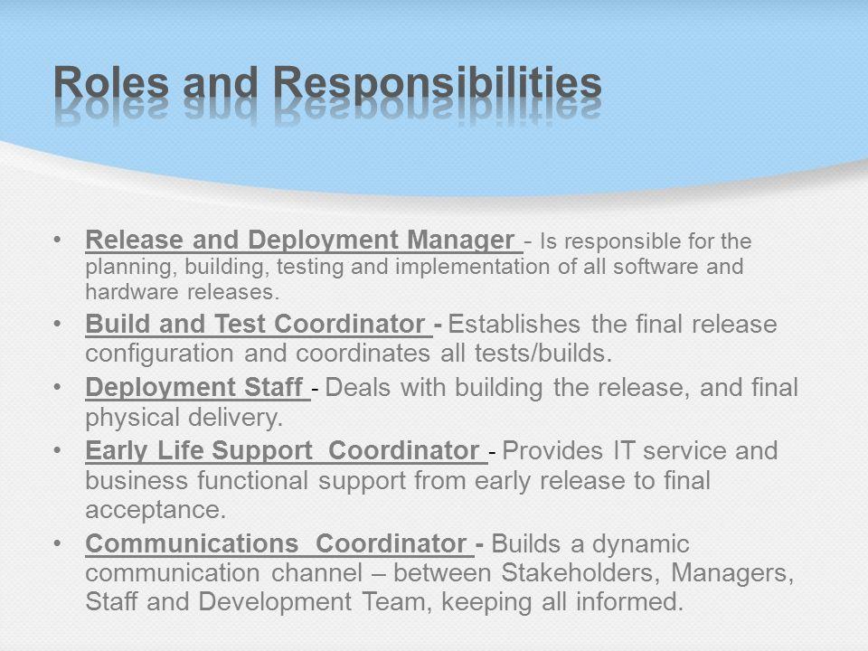 Release & Deployment ITIL Version 3 - ppt video online download
