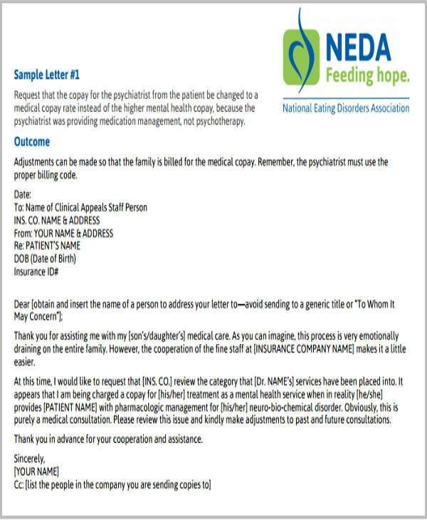 Claim Letter Templates - 6+ Free Sample, Example Format Download ...