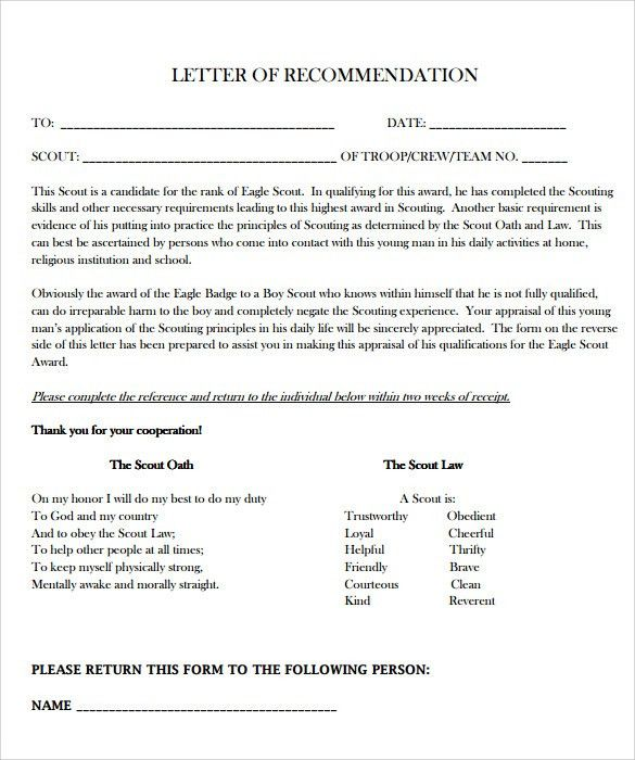 Thank You Letters For Recommendation. Free Thank You Letter For ...