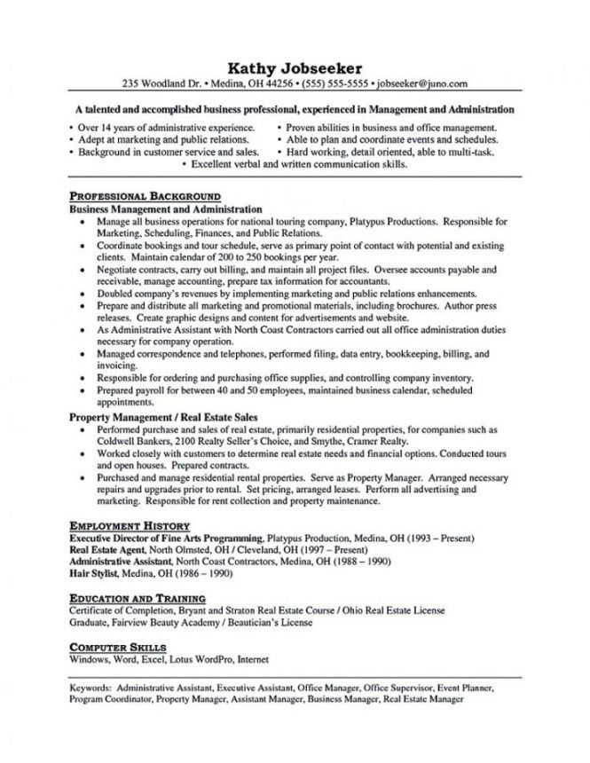 property management resume sample manager resume property