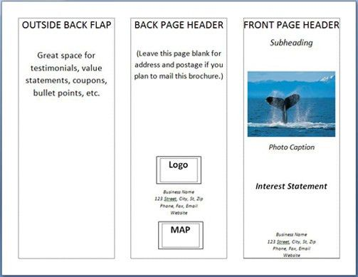 How To: Make A Brochure in MS Word 2007 - Printaholic.com