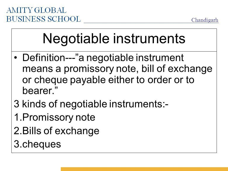 Negotiable instruments - ppt video online download