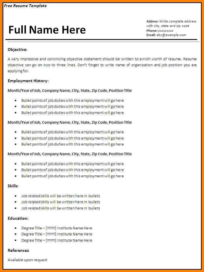 Resume References Template. Professional Reference List Sample - 7 ...