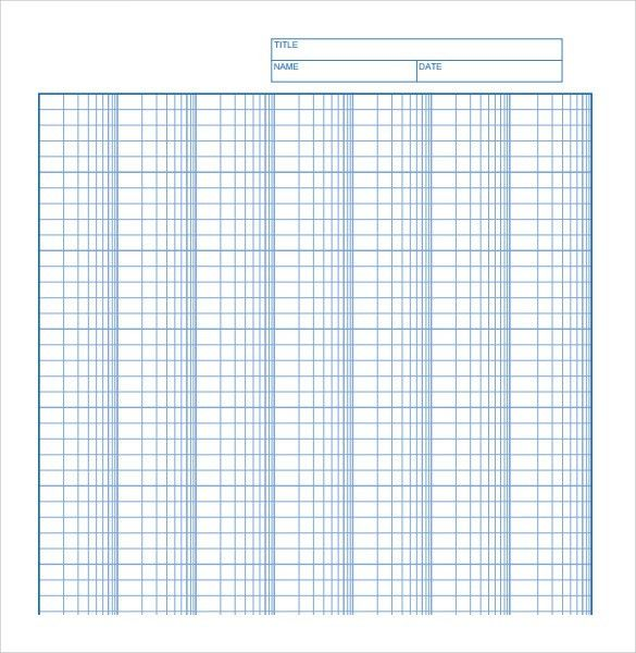 Delightful Sample Log Graph Paper   6+ Documents In PDF, Word With Graph Sheet Download