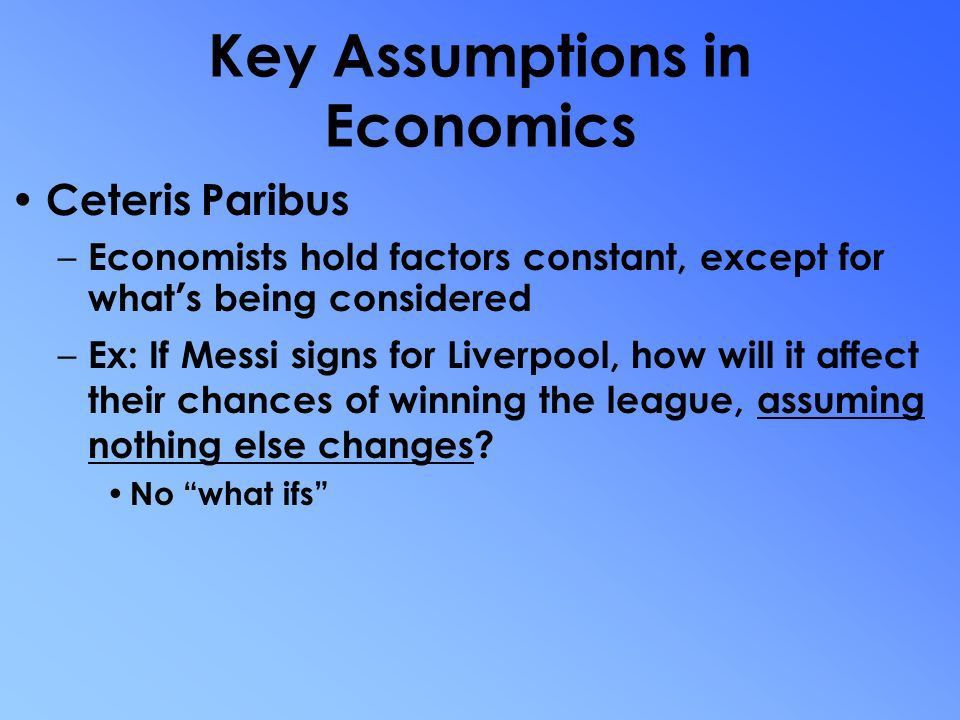 Mr. Hellums AP Macroeconomics Basic Economic Concepts – Scarcity ...