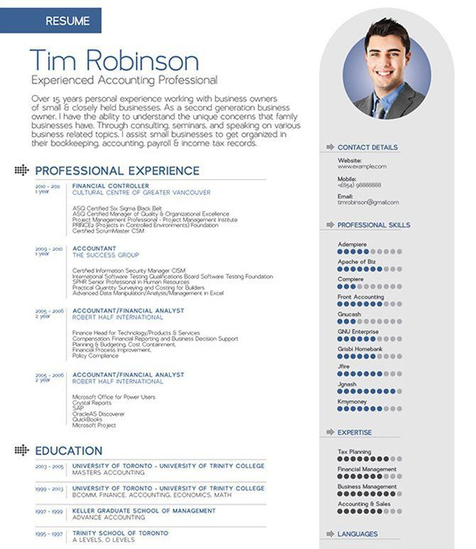 40 best free resume templates 2017 psd ai doc - Fancy Resume Templates