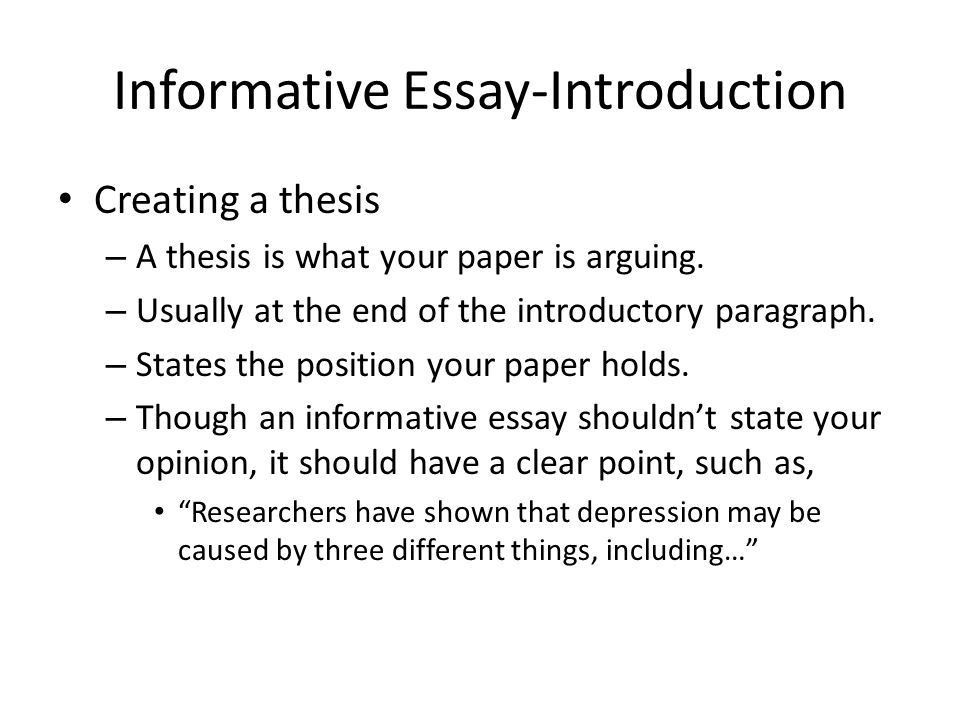 Informative Essay Example. Beautiful Informative Essay Images ...