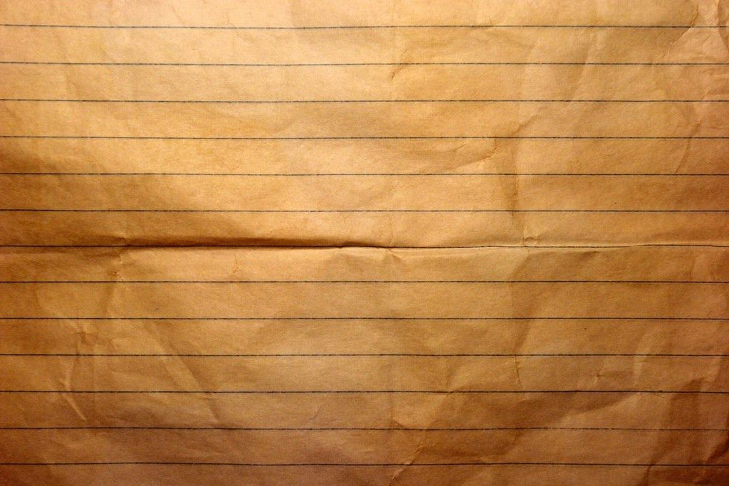 Old Notebook Paper | Closeup of old notebook paper. This tex… | Flickr
