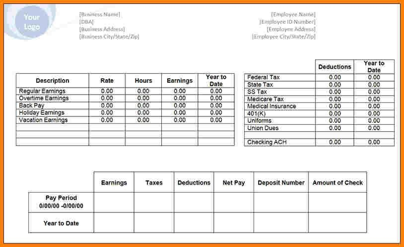 11+ payroll check template | sample of invoice