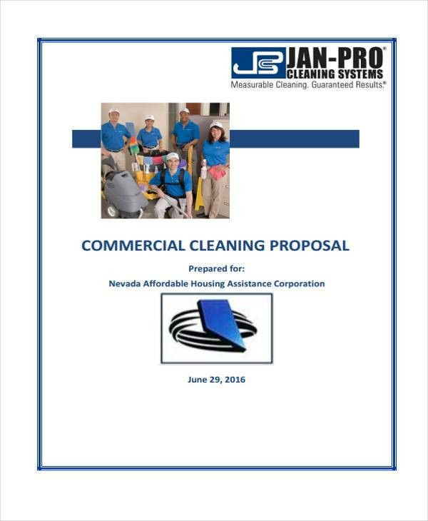 Cleaning Service Proposal Templates - 7+ Free Word, PDF Format ...