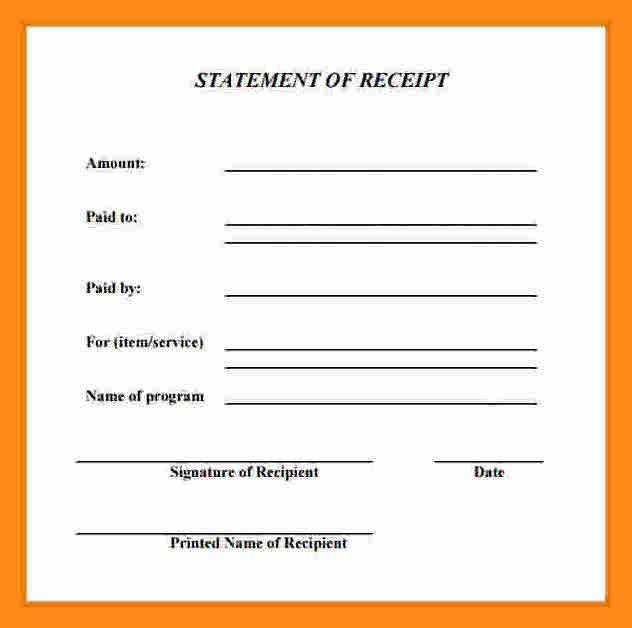 11+ generic receipt template | actor resumed