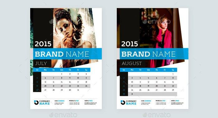 40+ Sample 2015 Calendar Templates & Designs Free | Free & Premium ...