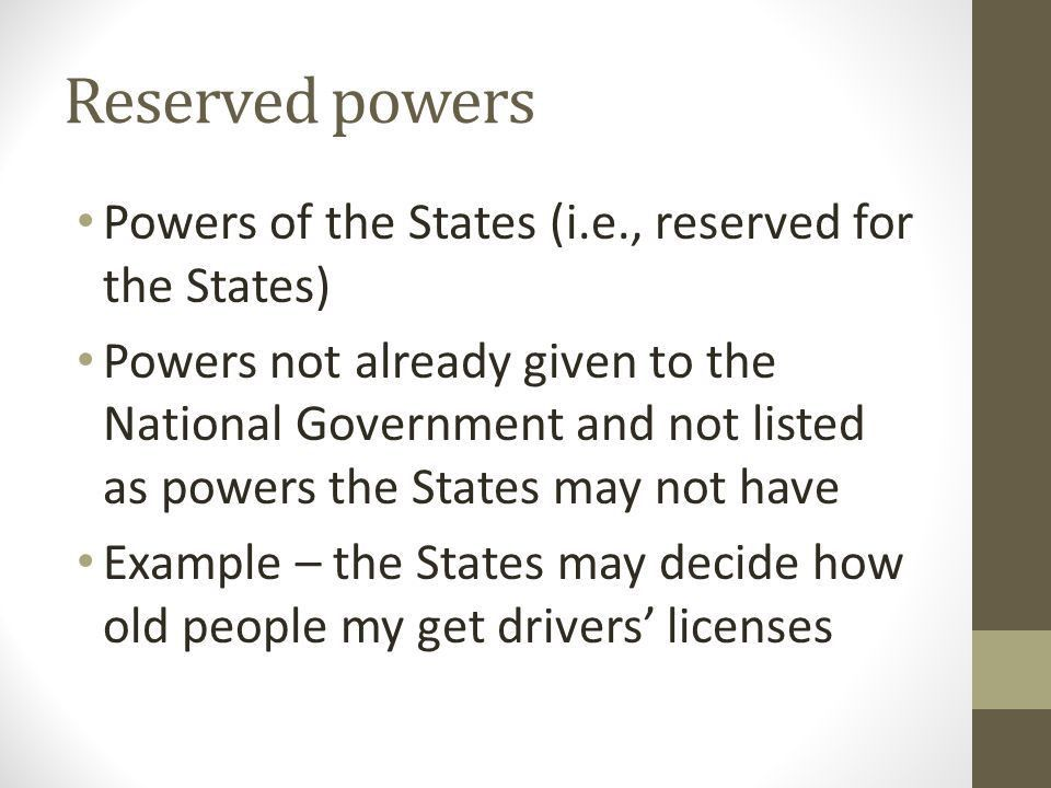 Federalism The Division of Power. Federalism System of government ...