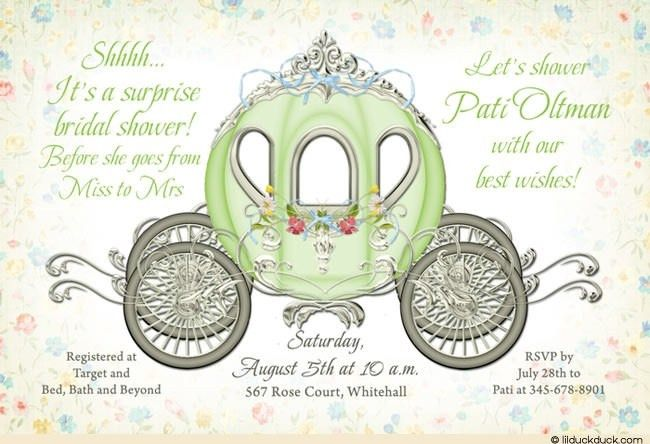 Surprise Bridal Shower Invitations | badbrya.com