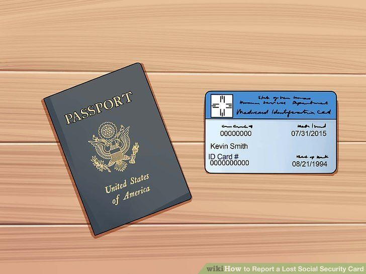 4 Ways to Report a Lost Social Security Card - wikiHow