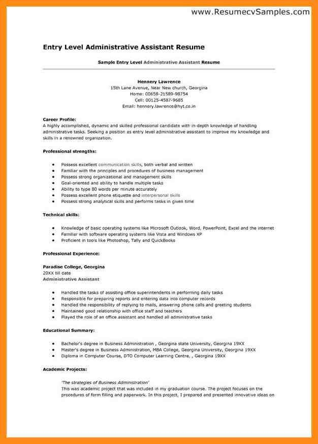 Resume Sample – azzurra castle grenada