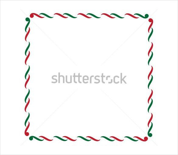 Holiday Border Template – 13+ Free JPG, PSD, Format Download ...