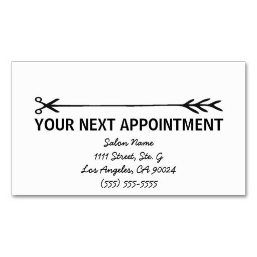 75 best Business Cards: Appointment images on Pinterest | Business ...