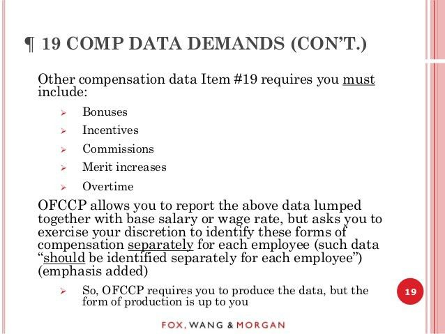 Practical Ways to Comply With the OFCCP's New Audit Scheduling Letter
