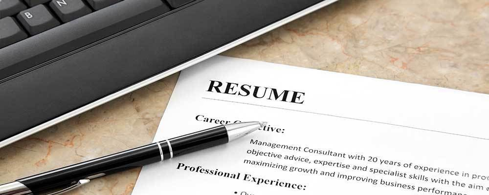How To Write A Great Resume - Veteran's Employment