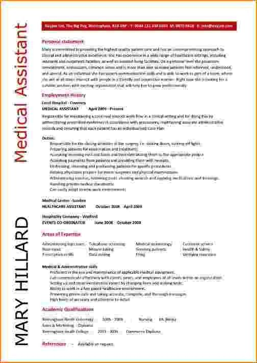 6+ medical assistant duties for resume | bibliography format