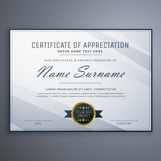 Certificate Vectors, Photos and PSD files | Free Download