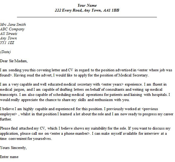 create cover letter. generic resume cover letter resume example ...