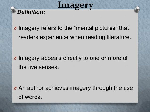 Imagery and Meaning