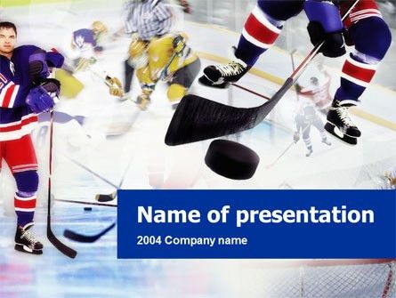 Ice Hockey Presentation Template for PowerPoint and Keynote | PPT Star
