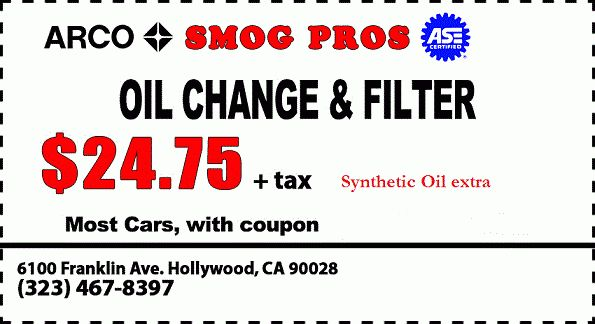 TERMS AND CONDITIONS - $29.75 Smog Check