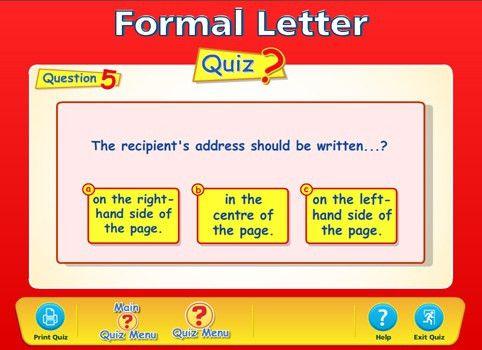 All Worksheets » Formal And Informal Letter Writing Worksheets ...