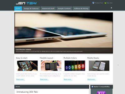 JSN Epic, Dome, Tendo, Teki Best Free & Premium Joomla Templates ...