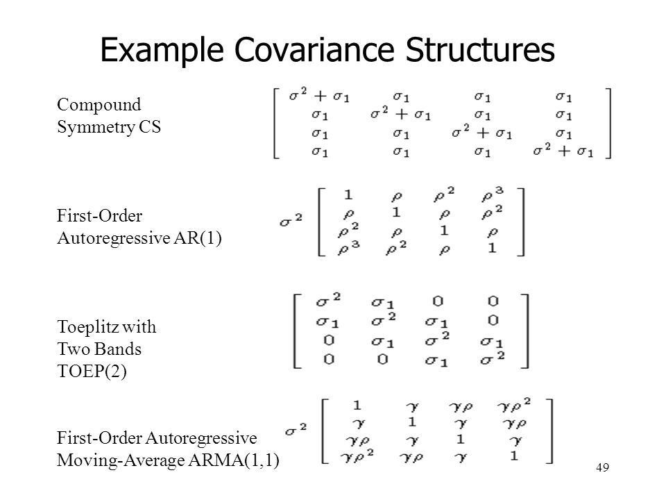 Introduction* to Mixed Effects and Repeated Measures Models - ppt ...