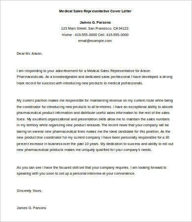 Sales Cover Letter - 9+ Free Word, PDF Documents Download | Free ...