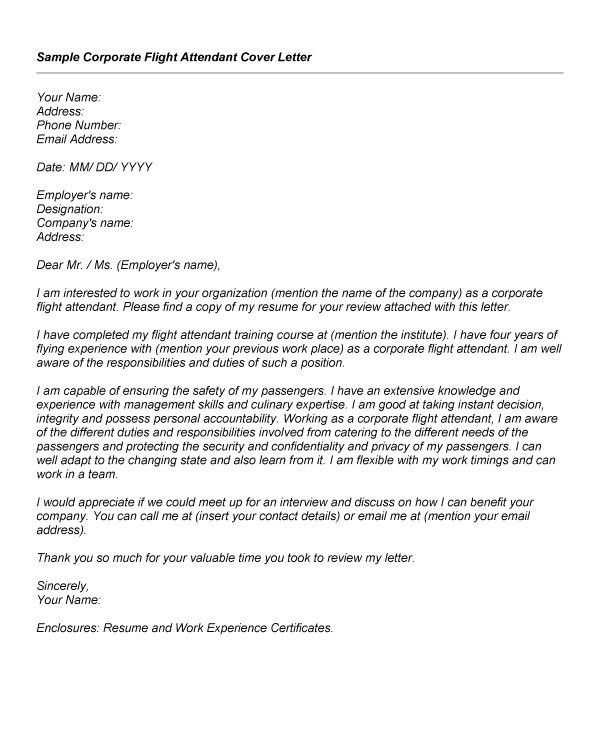 cover letter resume airline cabin crew example. cover letter for ...
