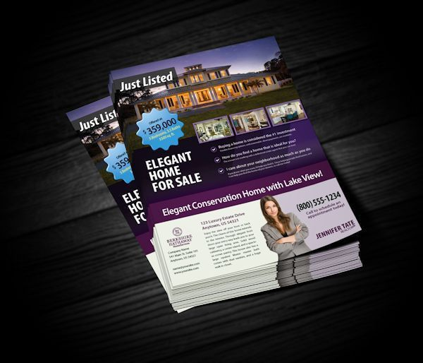 Berkshire Hathaway Flyers | Realty Cards Printing